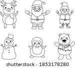 Christmas Characters Coloring...