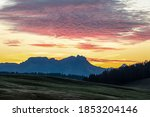 Daybreak On Seiser Alm  Alpe Di ...