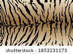 tiger pattern design  vector... | Shutterstock .eps vector #1853231173