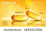 Two Shiny Capsules With Natural ...