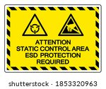 attention static control area... | Shutterstock .eps vector #1853320963
