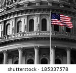 united state capitol building... | Shutterstock . vector #185337578