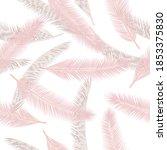 summer feather plumage vector...   Shutterstock .eps vector #1853375830