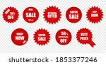product price tags clearance... | Shutterstock .eps vector #1853377246