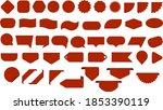 sale label collection set. sale ... | Shutterstock .eps vector #1853390119