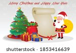 cartoon christmas santa claus ... | Shutterstock .eps vector #1853416639