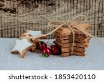 christmas or new year... | Shutterstock . vector #1853420110