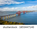 The Forth Bridges At South...