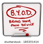 byod acronym message board... | Shutterstock . vector #185351414