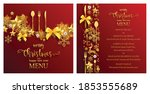 christmas greeting and new...   Shutterstock .eps vector #1853555689