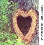 A Heart Shaped Hollow Hole In A ...