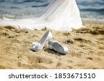 Stiletto Eedding Shoes On The...