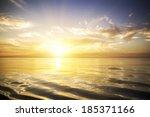 Beautiful Sunrise Over The Sea. ...