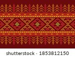 traditional pattern of ulos...