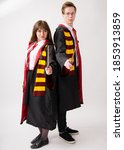 Small photo of September 18, 2020. Kiev Ukraine. Harry Potter And Hermione.