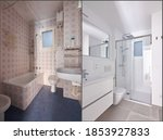 Before And After Bathroom...