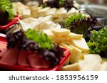Cheese Plate With Assortment Of ...