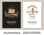 cleaning company covers ...   Shutterstock .eps vector #1854103900