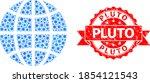 vector collage globe of flu...   Shutterstock .eps vector #1854121543
