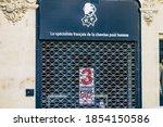 reims france november 04  2020... | Shutterstock . vector #1854150586