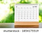 January 2021 Calendar Desk For...