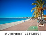 Promenade Des Anglais In Nice...