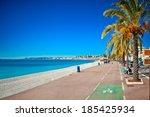 Promenade Des Anglais In Nice...