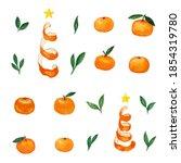 orange seamless repeating...   Shutterstock . vector #1854319780