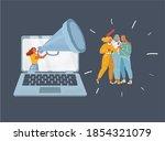 cartoon vector illustration of... | Shutterstock .eps vector #1854321079
