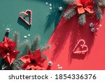 Christmas Festive Background In ...
