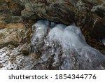 Moss Glen Falls In Winter Afte...