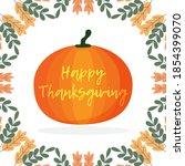 Happy Thanksgiving Pumpkin Ico...