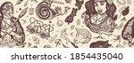 new zealand seamless pattern.... | Shutterstock .eps vector #1854435040