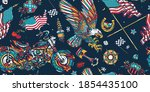 bikers pattern. racing sport... | Shutterstock .eps vector #1854435100