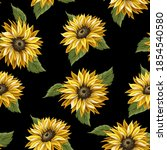 seamless pattern with...   Shutterstock .eps vector #1854540580