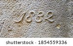 """""""1832"""" Carved In Stone   A..."""