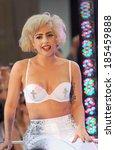 Постер, плакат: Lady Gaga on stage