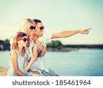 summer holidays  celebration ... | Shutterstock . vector #185461964