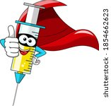 smiling cartoon character... | Shutterstock .eps vector #1854662623