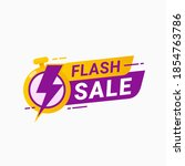 last hour offer badge. sale... | Shutterstock .eps vector #1854763786