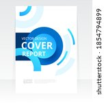 vector abstract design cover... | Shutterstock .eps vector #1854794899