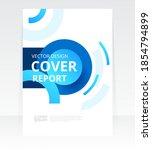 vector abstract design cover... | Shutterstock .eps vector #1854794899