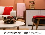 Decorative Antler Bowl With...