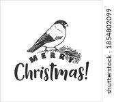 merry christmas vector...   Shutterstock .eps vector #1854802099