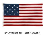 a replica of the flag that was... | Shutterstock . vector #185480354