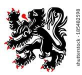belga,león,león,flamenco