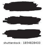 grunge black brush stroke...   Shutterstock .eps vector #1854828433