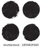 vector grunge round banners ...   Shutterstock .eps vector #1854829360