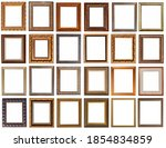frames for paintings antique... | Shutterstock . vector #1854834859