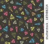 vector seamless background of... | Shutterstock .eps vector #185488214